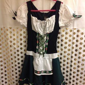Halloween Costume Dirndl German Beer girl outfit